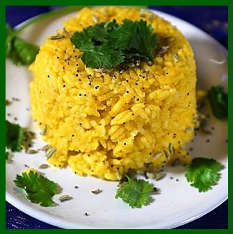 Indian Turmeric Rice
