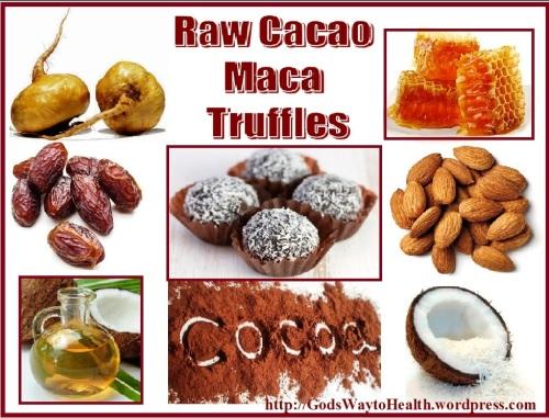 maca truffles recipe