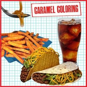 5 caramel coloring
