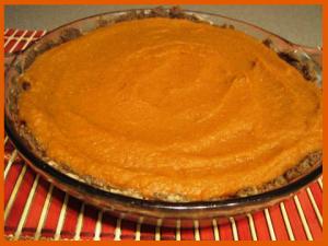raw pumpkin pie 2