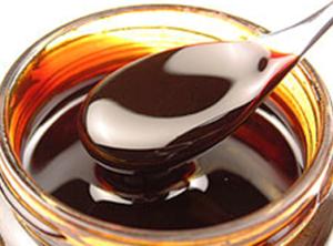 Molasses in a bowl