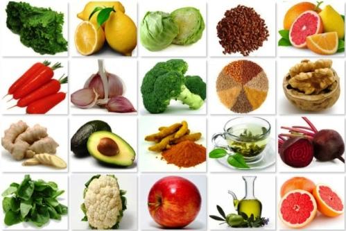 Clean-liver veggies