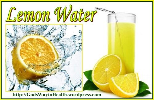 Lemon water CL