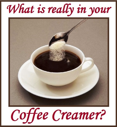 What is really in your coffee creamer