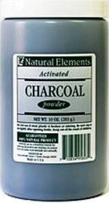 activated-charcoal powder