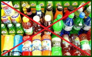No to fructose drinks