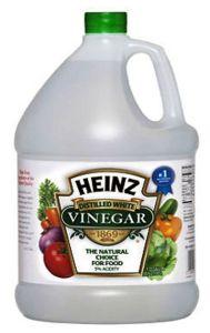 1 white vinegar