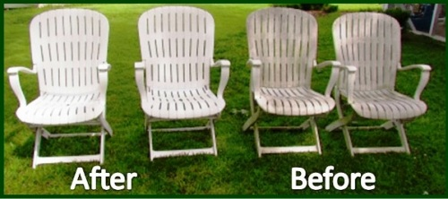 27 lawn furniture before and after